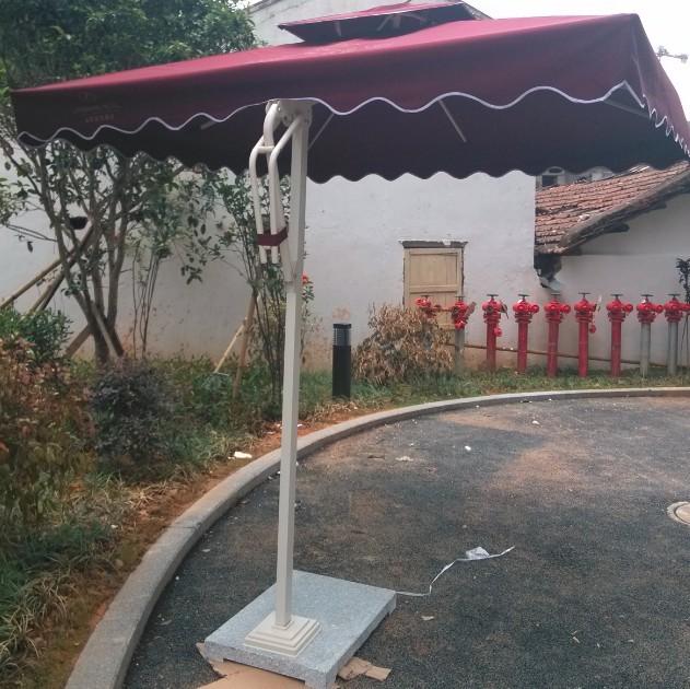 侧边伞,庭院伞,高级户外太阳伞,
