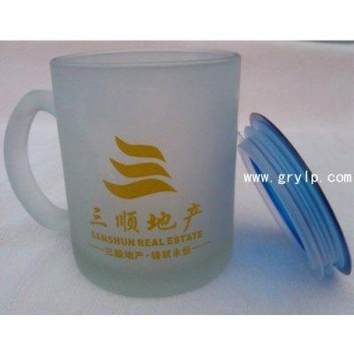 南宁磨砂杯批发,南宁磨砂玻璃杯批发,白杯2.8一个,内免运费送货