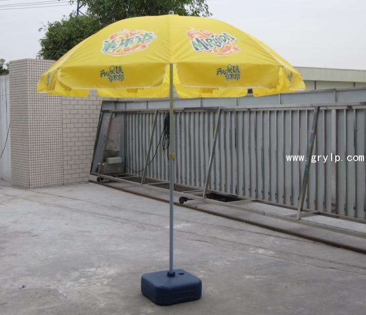 直径3米广告太阳伞定做,户外广告伞,南宁户外太阳伞定做批发
