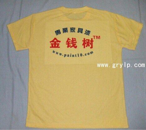 160G圆领广告衫制作,南宁广告文化衫定做,市内送货,量大价格便宜