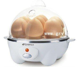煮蛋器,7蛋煮蛋器,正品山水DH-FZ1458蒸蛋器,厨房小电器礼品