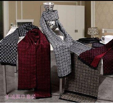 路易卡罗羊绒围巾,围巾套装礼盒