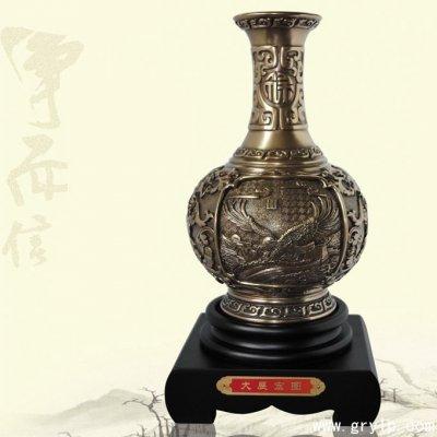 南宁碳雕工艺品-大展宏图炭雕花