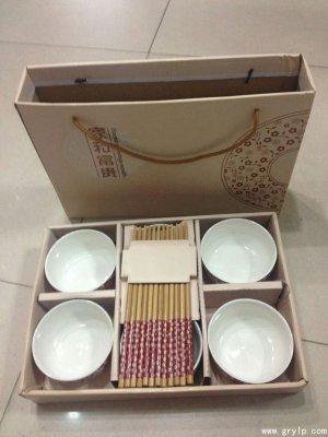 青花瓷碗-南宁青花瓷礼品碗6碗+6