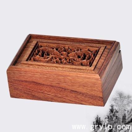 非洲酸枝木名片盒 南宁红木工艺